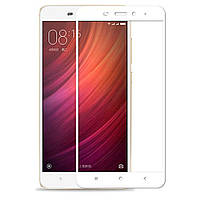 Защитное стекло Full Cover Xiaomi Note 4X, White
