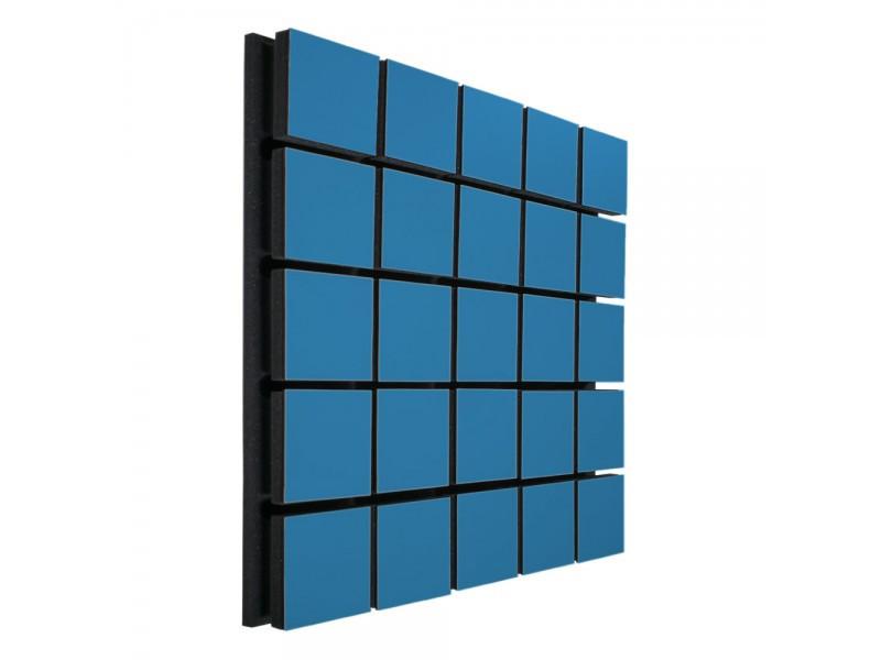 Акустический панель Ecosound Tetras Wood Blue 50x50см 33мм цвет синий