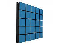 Акустический панель Ecosound Tetras Wood Blue 50x50см 33мм цвет синий, фото 1