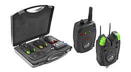 Набор сигнализаторов в кейсе Carp Expert Piave Wireless Bite Alarm Set 150 м 4+1