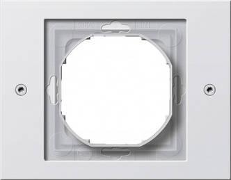 Gira 021166 Рамка установочная 1 пост Gira TX_44 (WG UP) белый