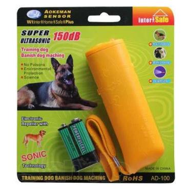 Ультразвуковой отпугиватель AD-100 для отпугивания бродящих собак либо обучения домашних питомцев