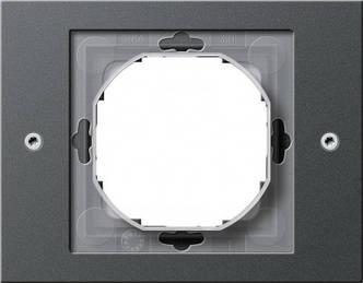 Gira 021167 Рамка установочная 1 пост Gira TX_44 (WG UP) антрацит