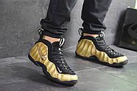 Nike Air Foamposite Pro  в золоті