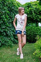 Детская футболка для девочки Artigli Италия A06363 Белый