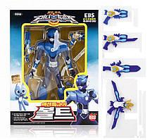 МиниФорс игрушки фигурки робот MINIFORCE Вольт / Bolt Korean Robot