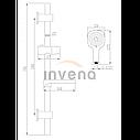 Душевой набор Invena ELEA, фото 2