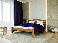 """Ліжко """"Афіна Нова"""" 160/200 см світлий горіх  Меблі Лев"""