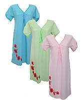 """Женская ночная рубашка """"Катюша"""", кулир,Женская одежда для сна ночнушки,комсомольский трикотаж"""