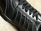 Кроссовки Bonote р.44 чёрные кожзам сезон осень/весна, фото 5