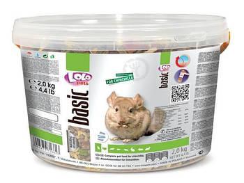 Полнорационный корм LoloPets для шиншилл, 2 кг
