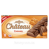 Шоколад молочный с карамелью Chateau Karamel 200 г Германия
