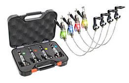 Набор 4 свингера на цепочке Energofish Carp Expert CXP LED Chain Swinger Set с подключением