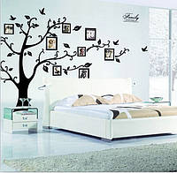Интерьерная наклейка Семейное дерево большое  (250х180см)