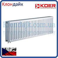 Стальной радиатор Koer тип 22 300х1400 нижнее подключение