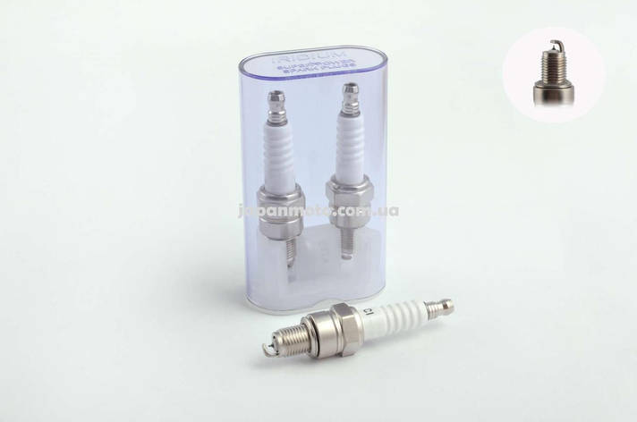 Свеча A7TCI M10*1,00 12,7mm IRIDIUM (4T скутеры и мопеды, до 14 атмосфер) NG, фото 2