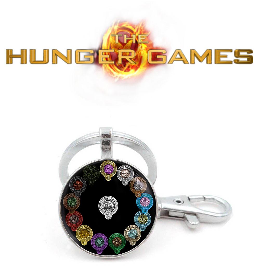 Брелок Дистрикты Голодные игры / The Hunger Games