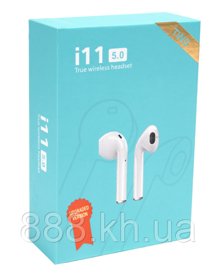 Apple AirPods i11h Bluetooth Headset Touch. Беспроводные наушники Bluetooth гарнитура AirPods