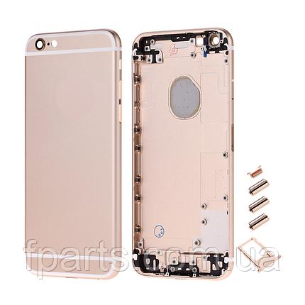 "Корпус iPhone 6S (4.7"") Gold, фото 2"