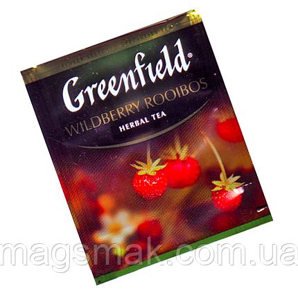 Травяной чай Greenfield Wildberry Rooibos, 100 пакетов (HoReCa), фото 2