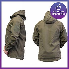 Куртка Софтшел (софшел) soft shell Ranger Olive (police) - аналог M-TAC