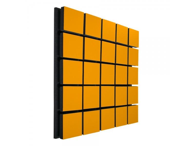 Акустический панель Ecosound Tetras Wood Orange 50x50см 33мм цвет оранжевый