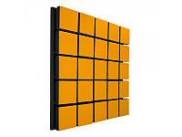 Акустический панель Ecosound Tetras Wood Orange 50x50см 33мм цвет оранжевый, фото 1