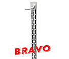 Інфрачервоний обігрівач BRAVO 700 з терморегулятором Standart, фото 2