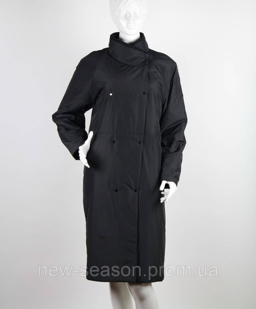 Пальто демисезонное Button J108-923 черный