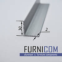 Уголок алюминиевый 30х30х2 / б.п.