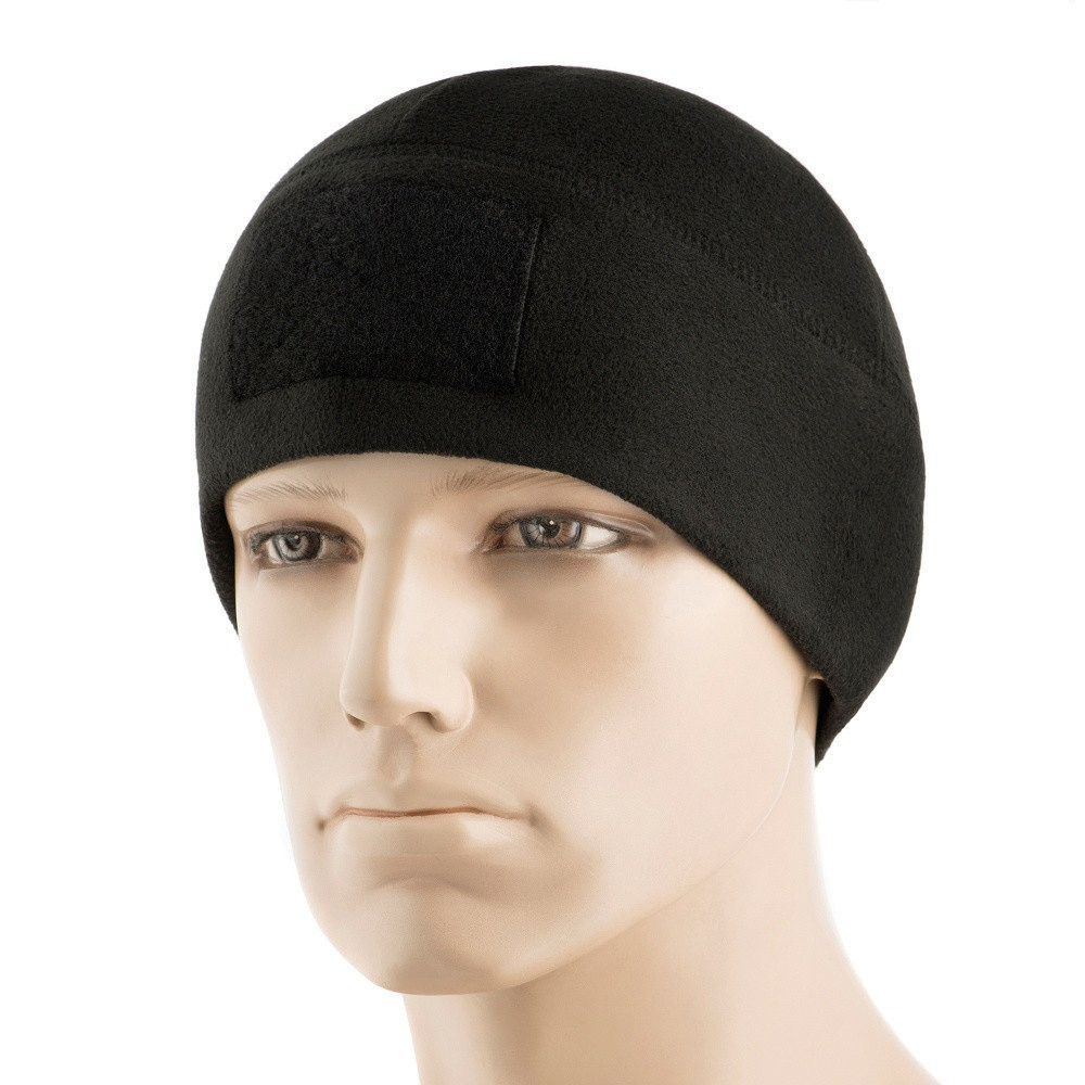 M-Tac шапка Watch Cap Elite флис (270г/м2) с липучкой Black