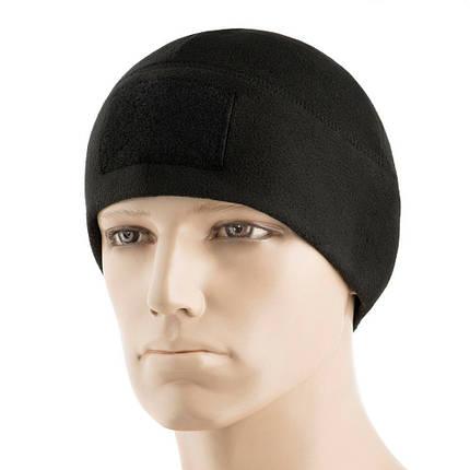 M-Tac шапка Watch Cap Elite флис (270г/м2) с липучкой Black, фото 2