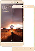 Защитное стекло Full Cover Xiaomi Note 3, Gold