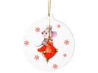 Новогодняя подвеска Новогодние мышки