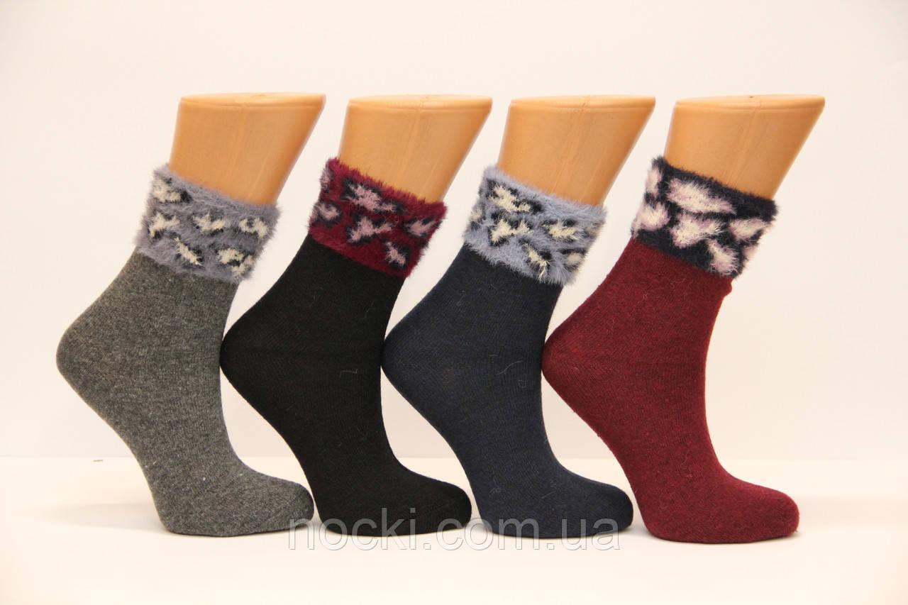 Женские носки шерстяные с ворсистым верхом 3919