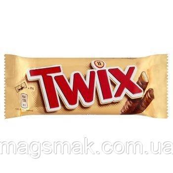 Батончики Twix с печеньем и карамелью в молочном шоколаде 50г