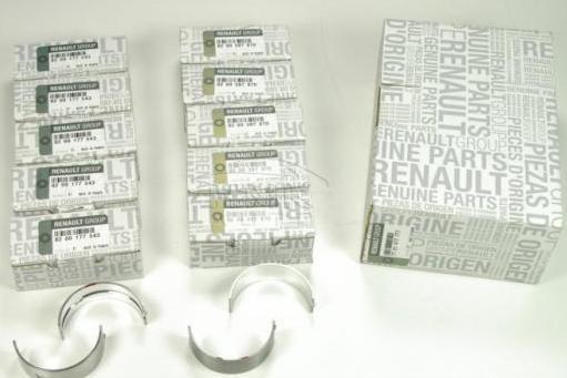 Вкладыши коленчатого вала на Renault Laguna II 2001->2007 2.2dCi - Renault (Оригинал) - 7701477777