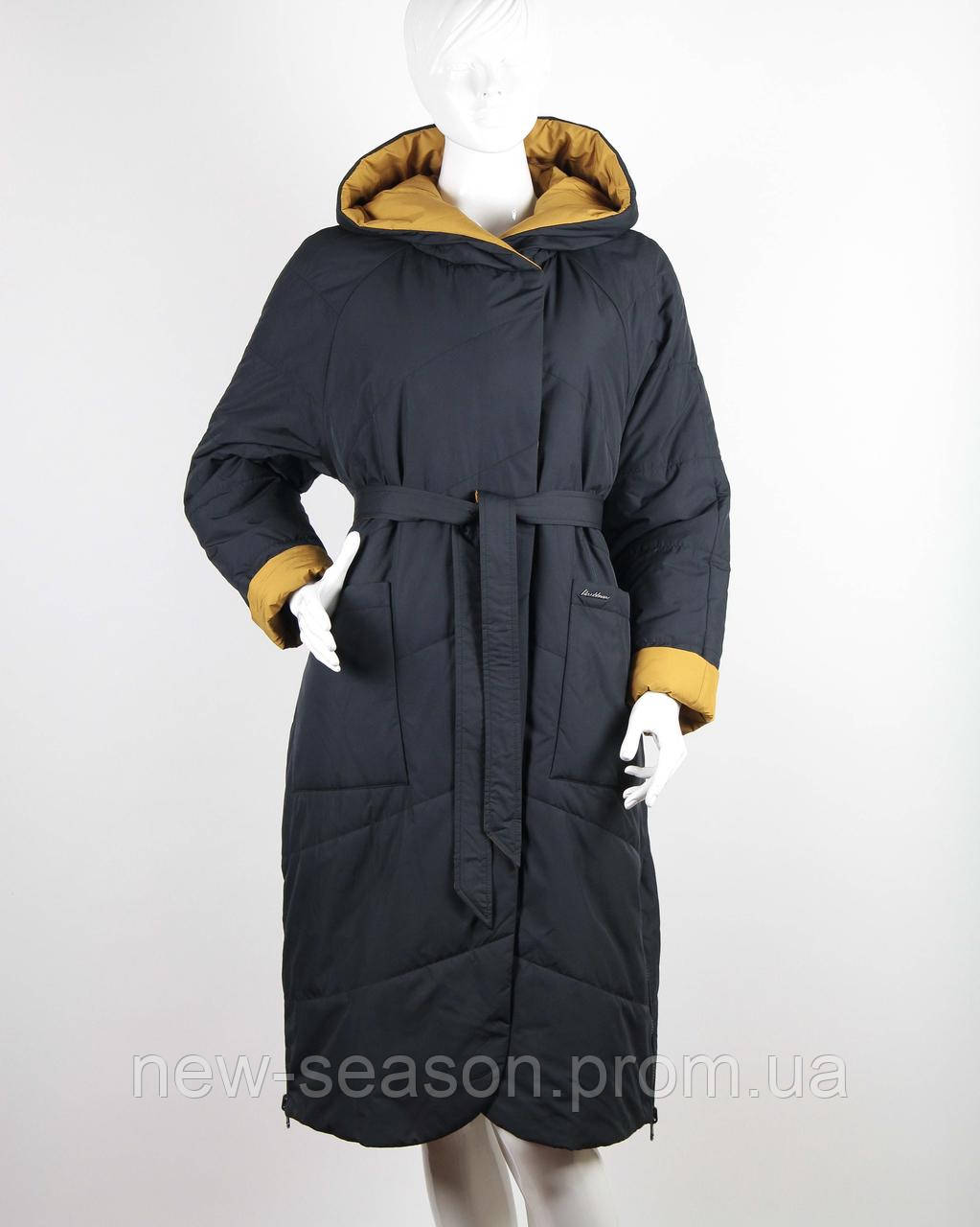 Пальто демисезонное двухстороннее Button J106-501-L
