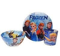 Набор Детской Посуды Frozen, Холодное Сердце, 3 предмета