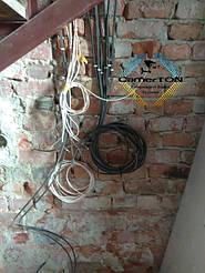 Виконано монтаж кабеля для відеоспостереження у с.Добояни Стрийського району 1