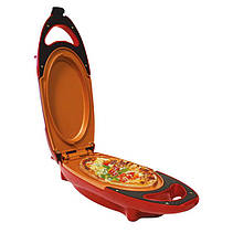 Инновационная электросковорода Red Copper 5 minuts chef / электрическая скороварка для вторых блюд, фото 2