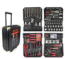Набор головок ключей инструментов в чемодане на колесах LEX 186 ел Польша