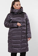 Куртка зимняя атлас Большие размеры 46, 48, 50, 52, 54, 56