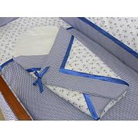 Детское постельное белье в кроватку + Конверт на выписку, фото 1