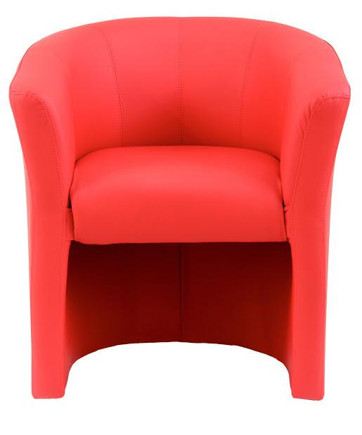 Кресло Бум 1 кат. красное