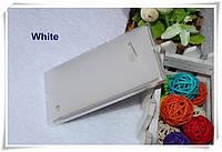 Чехол силиконовый TPU матовый Nokia Lumia 730 Dual SIM белый