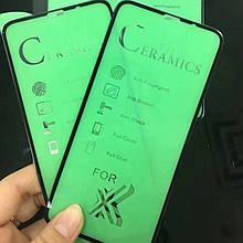 НОВИНКА!! Защитное стекло Ceramics Anti-shock Glass iPhone X / XS / 11 Pro (без упаковки)