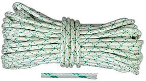Шнур капроновый Украина Евро плетеный 4 мм х 25 м (69-753)