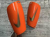 Щитки для футбола Nike Mercurial оранжевые