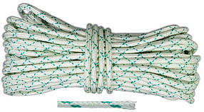 Шнур капроновый Украина Евро плетеный 4 мм х 50 м (69-755)